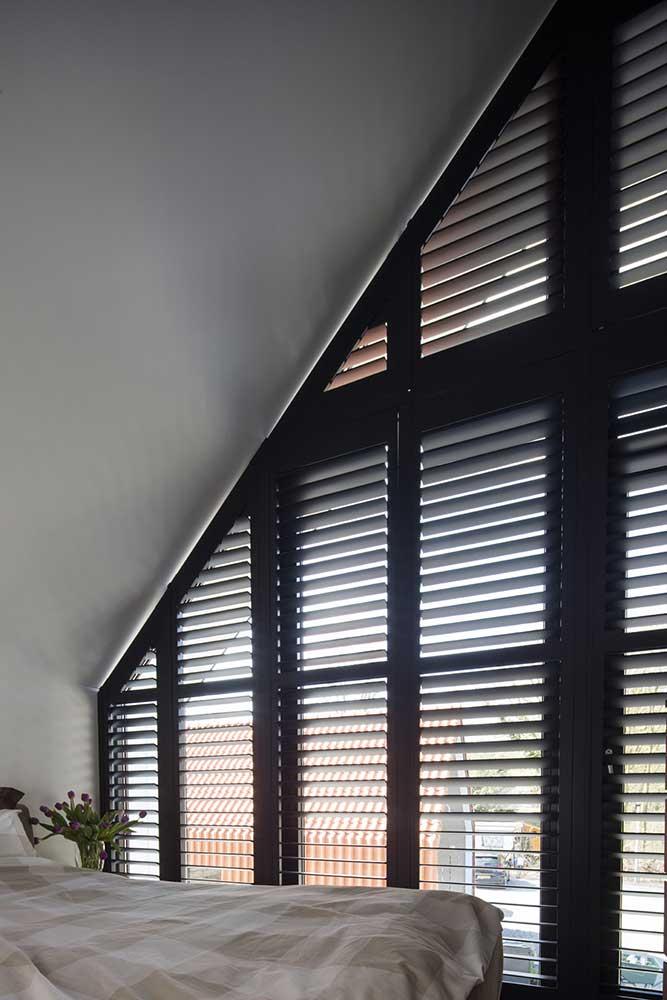 Jasno Shutters schuine dakramen puntdak ramen Amstelveen